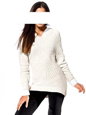 e658108ad264 HEINE dámský bílý svetr