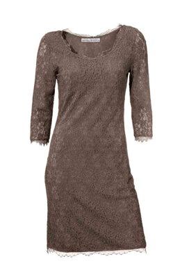 Návrhářské krajkové šaty ASHLEY BROOKE i pro plnoštíhlé f2c7f422f9