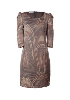 7a87c0439b4 Dámské saténové šaty s potiskem APART