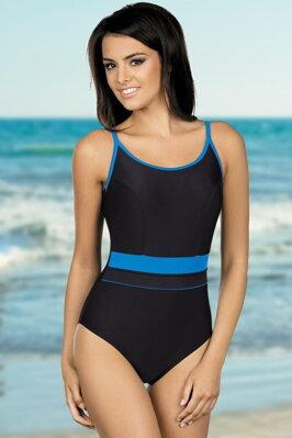 67fc881334c Jednodílné sportovní plavky Delfina černomodré